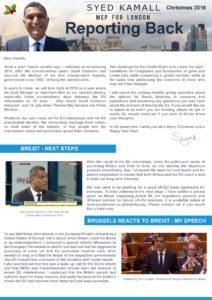 Newsletter xmas 2016
